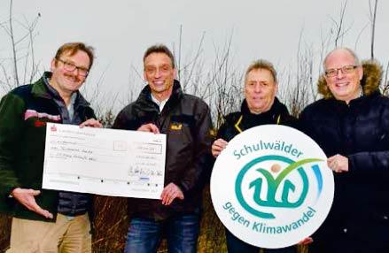 Spende für den Schulwald Wolfenbüttel