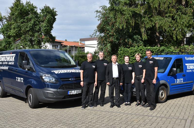 Tomkowiak Büro Team